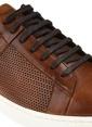 George Hogg %100 Deri Bağcıklı Ayakkabı Taba
